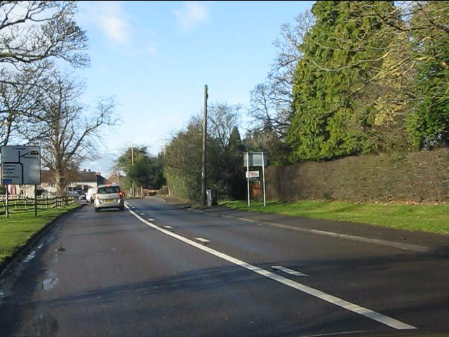 A535 at Twemlow Green
