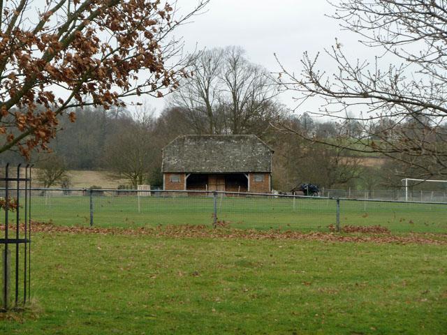 Cricket pavilion, Penshurst Park