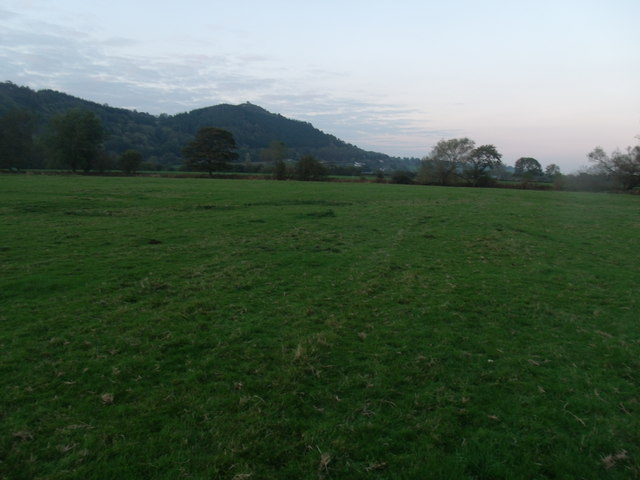 Looking towards Upper Maen farm