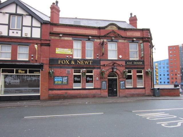 The Fox and Newt on Burley Street, Leeds