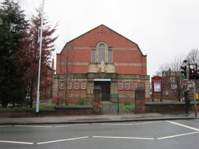 Our Lady of Lourdes Church, on Cardigan Road, Leeds