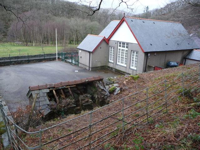 Old village school, Capel Curig