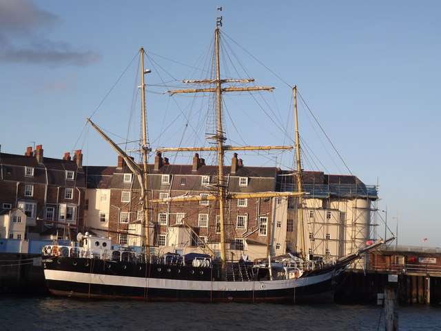 Tall Ship at Weymouth