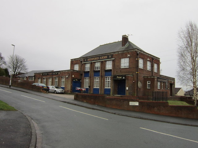 The Bedford Arms on Silk Mill Drive