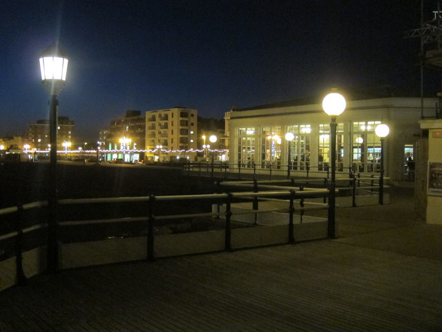 Café on Worthing Pier