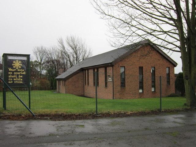 Tinshill Free Church on Holly Avenue