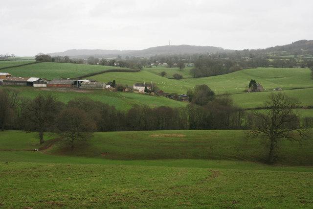 Sampford Moor from White Ball