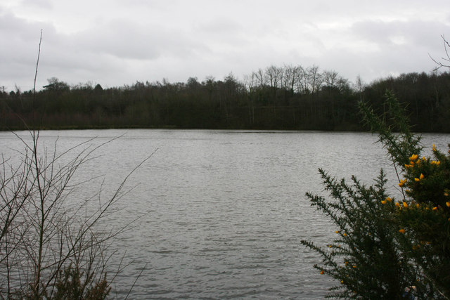 Old sand pit at Gypsy Lane