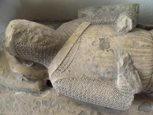 Unknown 14th C. Knight, St Mary's church