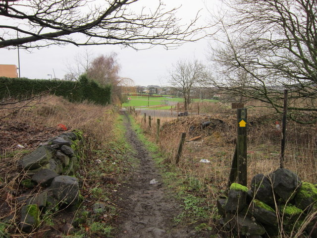 The Leeds Country Way at Lee Lane West