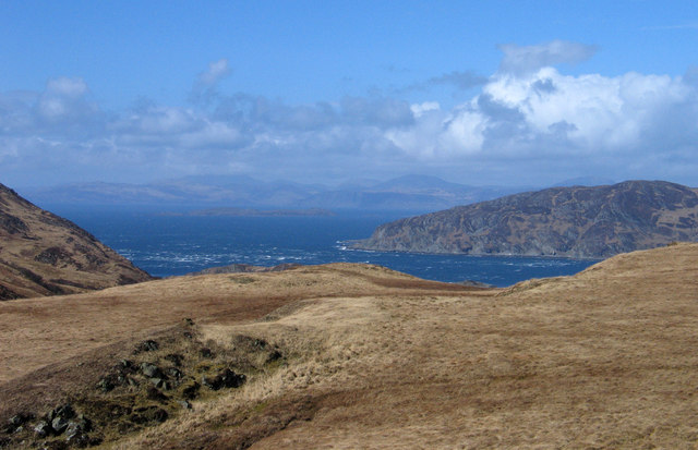 Moorland north of Cnoc Loch Losguinn