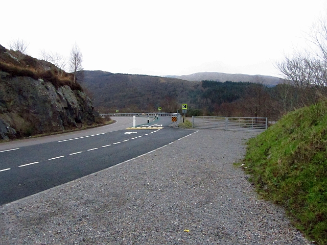 New cycle path at Creagan
