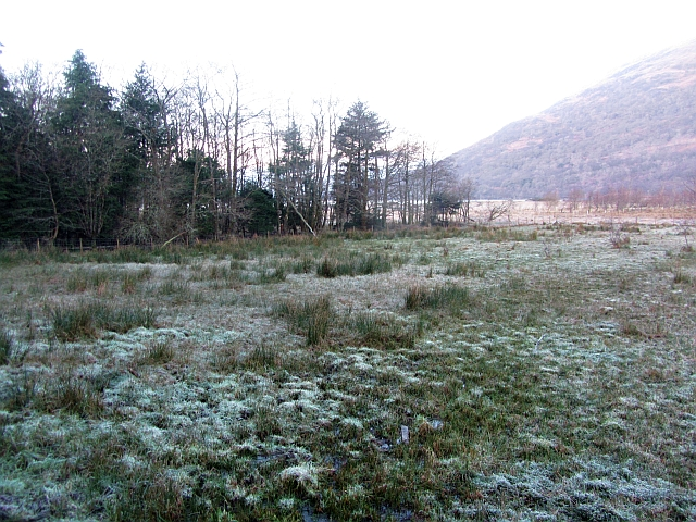 Flats at the head of Loch Creran