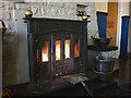 NY6441 : The fire at Hartside Top Cafe by Karl and Ali