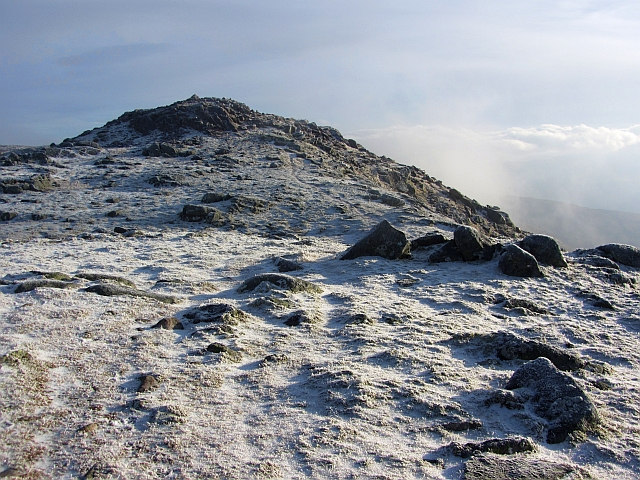 South top of Meall Garbh on Beinn Sgulaird