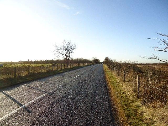 Darnrig Moss, road