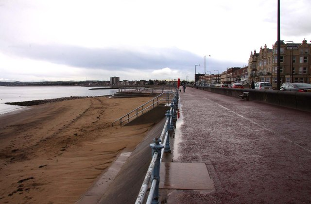 The promenade at Morecambe looking east