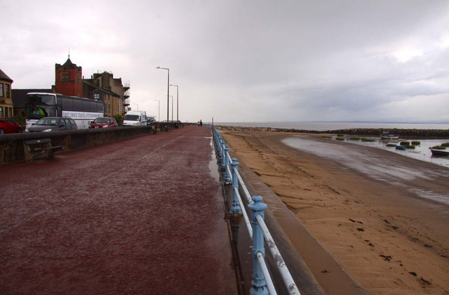 The promenade at Morecambe looking west