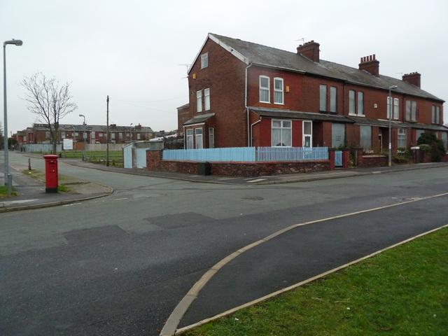 Houses on Devonshire Street, Salford