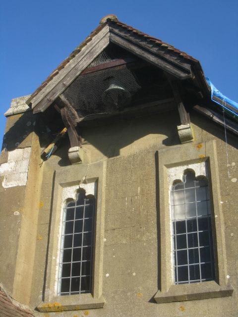 St John's - western facade & bell