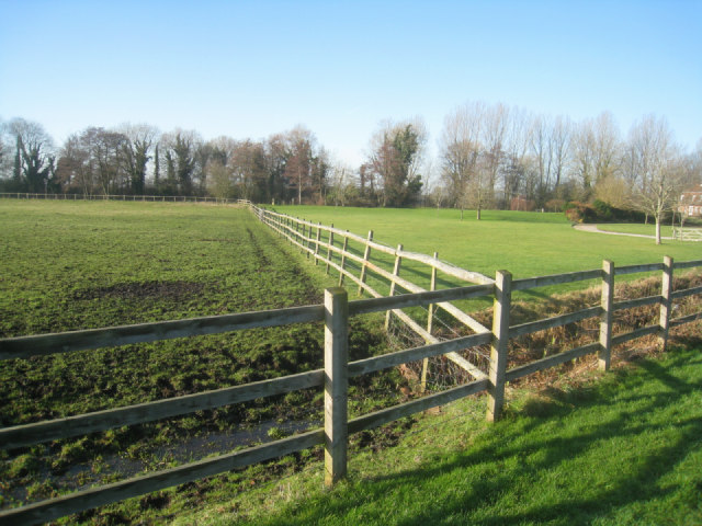 Pony paddock by Poland Mill