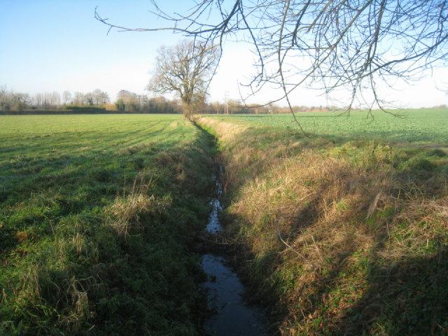 Drainage ditch - Potbridge farm