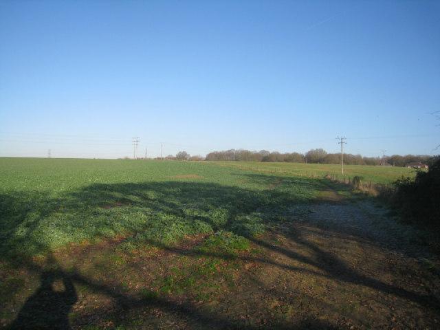 Footpath to Potbridge