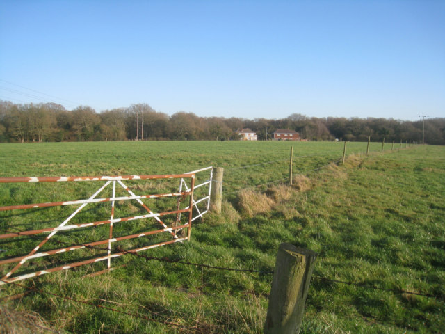 Rusty gate - Potbridge farm