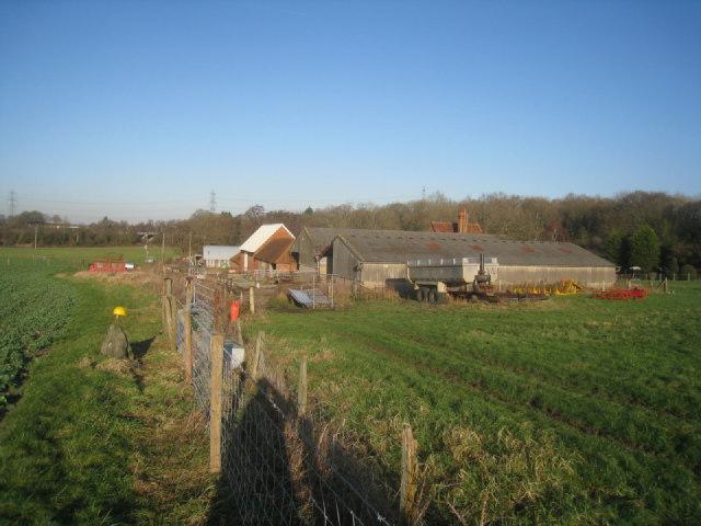 Out buildings - Potbridge Farm