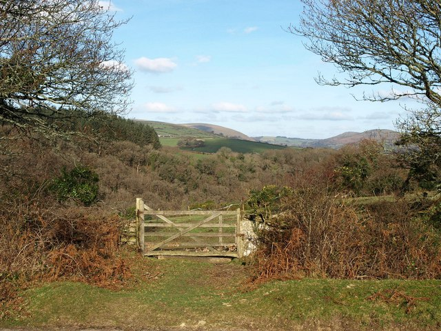Gate, Leusdon Common