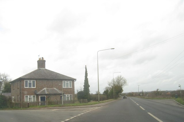Lone cottage on the A4