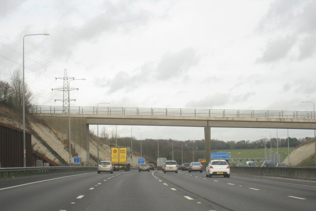 M25 west of Maple Cross