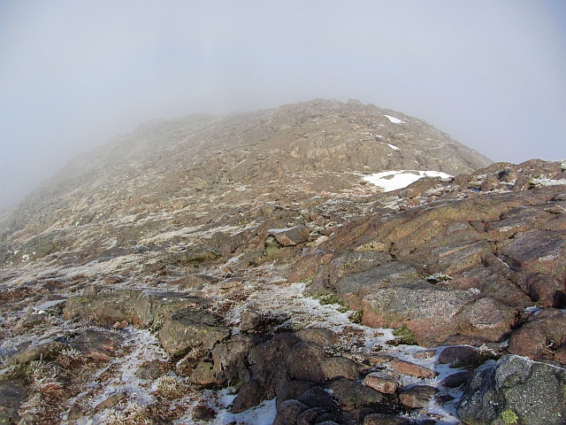 South ridge of Beinn Sgulaird