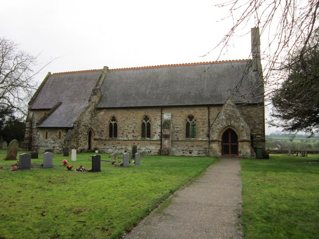 All Saints Church, Nash