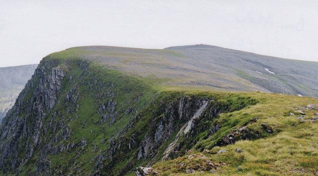 Ben Alder summit ridge