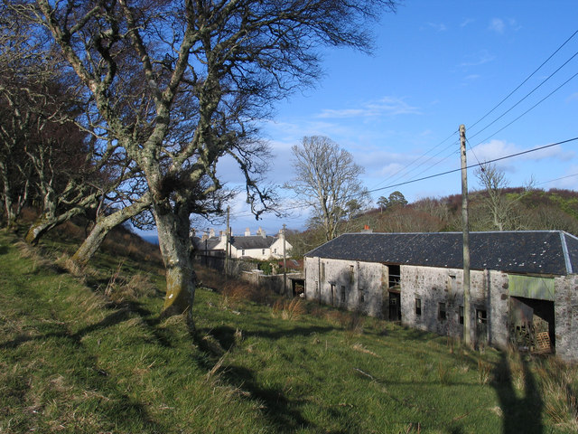Buildings at Ardlussa