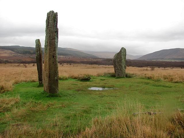 Stone circle, Machrie Moor