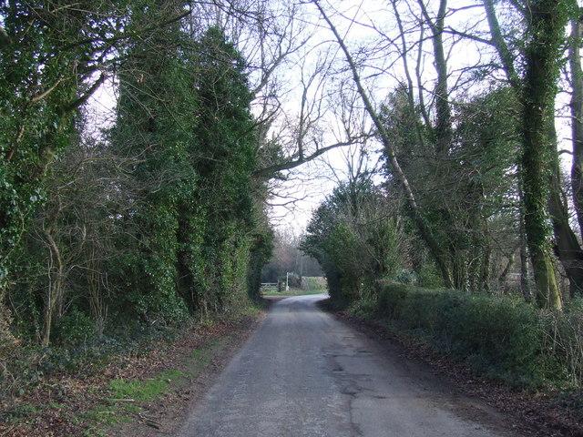 Fackenden Lane, near Shoreham