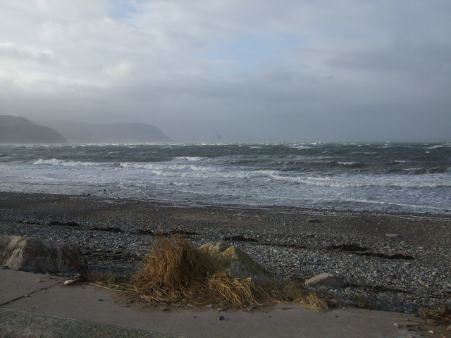 A blustery winters day West Shore