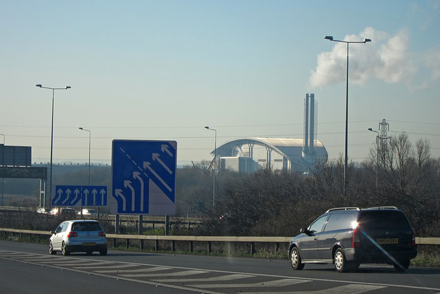 M25 junction 15