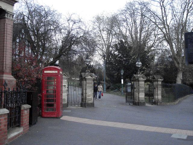 Telephone Kiosk Monks Road