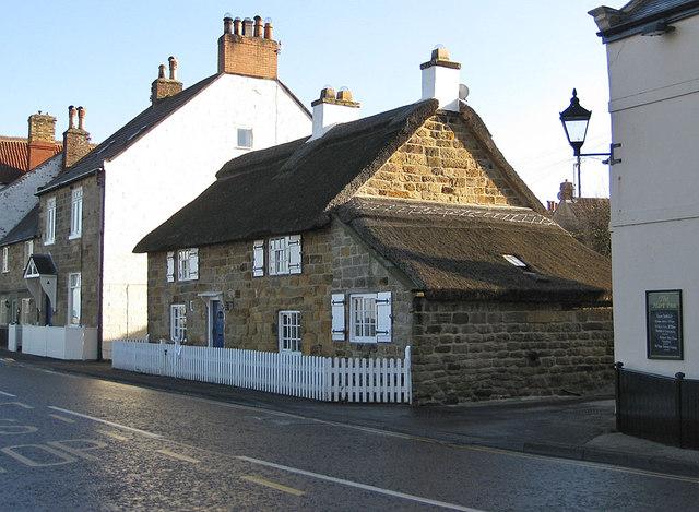 Thatched cottage, Sandsend