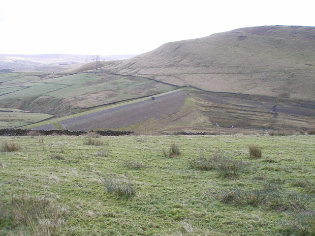 Ramsden Clough Reservoir (empty)