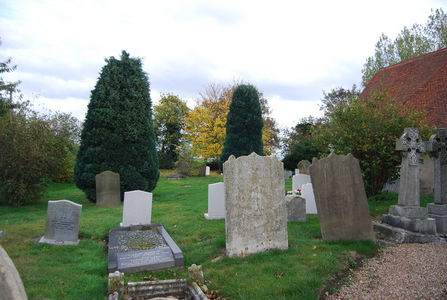 Graveyard, Church of St Peter and St Paul, Stoke