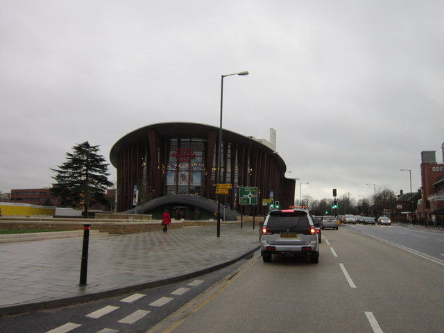 The Aylesbury Waterside Theatre on Exchange Street