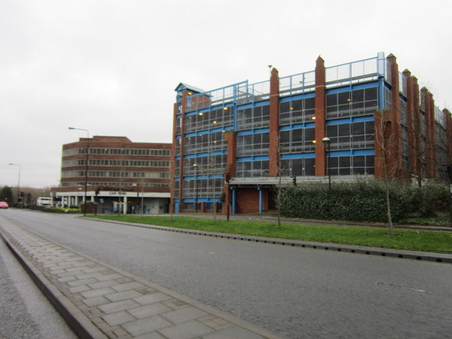 the multi-storey car park on Upper Hundreds Way