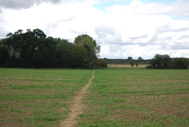 Footpath to Wood House