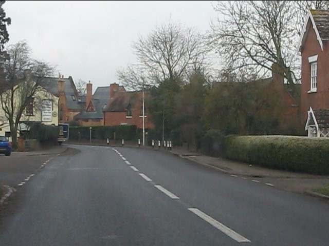 A458 in Enville