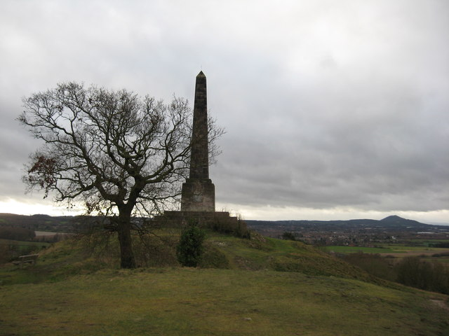 Sutherland Monument at Lilleshall