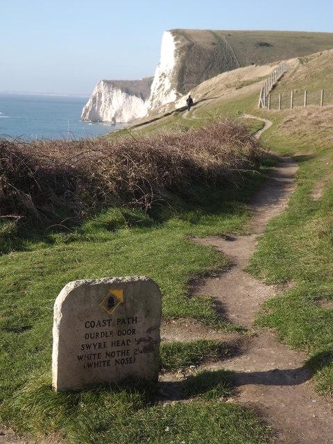 South West Coast Path, Durdle Door